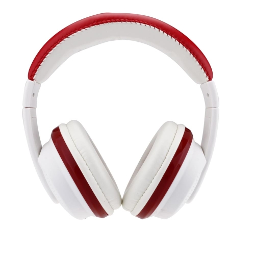 VYKON MQ55 3.5mm Jack Head-mounted Surrounding Stereo Headset Game Wired Earphone Headphone for iPhone iPod Samsung PC Computer MP3 Red