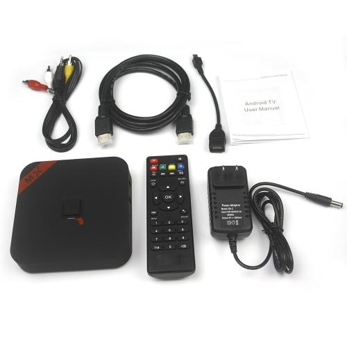 Android 4.4 TV Box S805 Quad Core Cortex-A5 1G / 8G XBMC DLNA Miracast H.265  WiFi Bluetooth OTG Mini PC Smart Media Player with Remote Controller