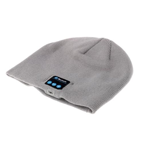 Bluetooth Music Headphone Soft Warm Beanie Hat Cap