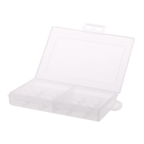 Nouvelle Boîte Portable de rangement des batteries rechargeables de standard d'AA ou d'AAA