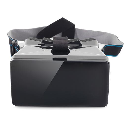 Portátil 3D VR óculos com chupando o disco para telefones inteligentes com o tamanho até 5.5 em