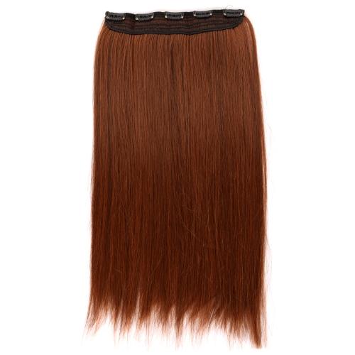 Langen geraden Haar Perücke