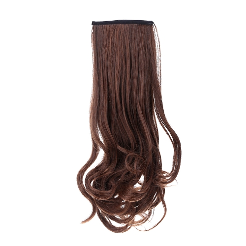 Парик груша цветок поддельные Mawei хвост Ms волнистые вьющиеся волосы связать тип