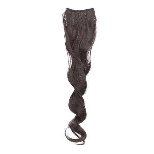 Хвост шиньоны длинные волнистые высокотемпературные провода связки Мавэй стиль ремни