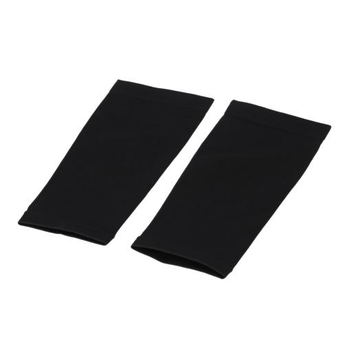 Black Calf Slimming Socks High Elasticity Fat Burning Shaping Compressive Sleeve