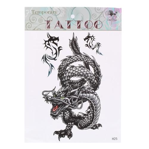 1Pcs Dragon Pattern Temporary Tattoo Stick