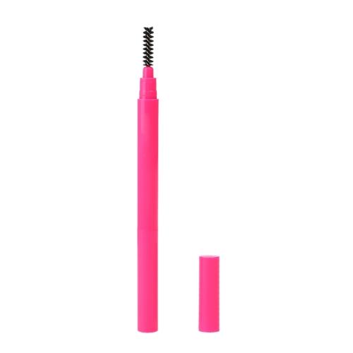 Professionelle Augenbrauenstift zweiseitig gesockelte kosmetische Liner drehbar Make-up Tool 5#