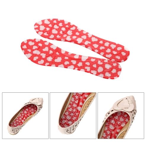 1 Paar 3/4 Frauen Fuß PU Kissen Einlagen Anti-Rutsch-High-Heel Sandale Schuh Pads bequeme Füße Care Protector