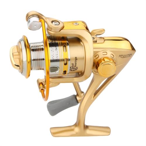 8BB rodamientos intercambiable izquierda/derecha empuñadura plegable rueda de pesca Spinning Reel de alta velocidad 5.1:1 ST2000A