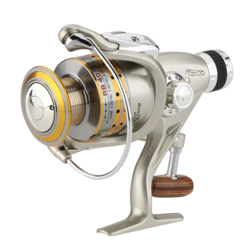 8BB Kugellager Links / Rechts Auswechselbare Klappgriff Angeln Rad Spinning Reel High Speed 5.1: 1