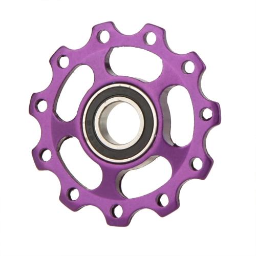 MTB Mountain Bike Road biciclette posteriore deragliatore in alluminio lega 11T guida rullo puleggia folle Jockey ruota parte accessorio