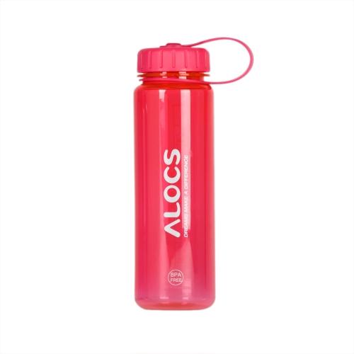 500ml ALCOS WS-B05 al aire libre Portable BPA translúcido Tritan gratis deportes botella de agua con filtro cubierta ciclismo senderismo Camping viaje