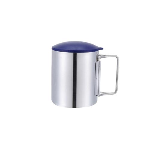 Thermal Camping viaggio Mug tazza in acciaio inox acqua Cup doppio strato 220ml