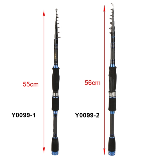 Lixada canna da pesca in fibra di carbonio  2.4m / 2.7m