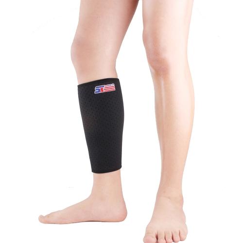 SX651 Protezione di supporto del gancio di vitello Sport Wrap Shin in esecuzione Bendaggio gamba manica compressione