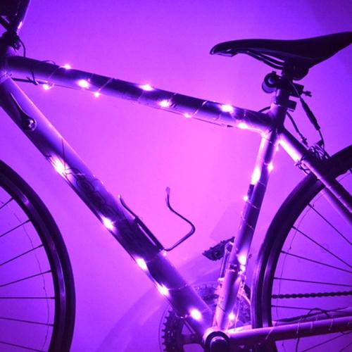 2 Modes 30 LED ライト防水自転車バイクサイクリングワイヤータイヤホイールはライトランプスポーク
