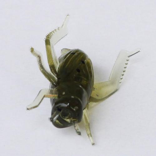 20ST 0,8 g 2cm weich Angeln Köder lockt leichte Insekt Form Simulation Köder