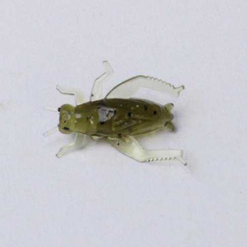Lixada 20Pcs 0.8g 2cm señuelos ligeros de la pesca Insectos ligeros de la forma de la simulación