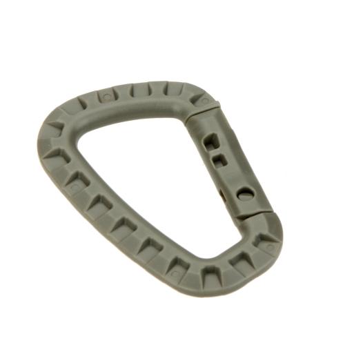 D forma 200LB alpinismo fibbia moschettoni POM plastica Arrampicata moschettone appeso portachiavi gancio strumento all'aperto
