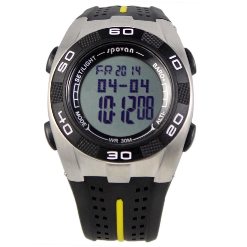 Spovan Blade-V Multifunction Outdoor Fashion Sports Watch Altimeter Barometer Thermometer Weather Forecast Stopwatch 3ATM Waterproof