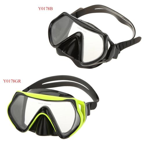 Взрослый анти туман дайвинг оборудование регулируемые плавательные очки очки маска