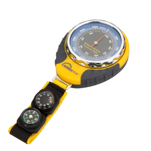 4 in 1 digitale Höhenmesser Barometer Kompass Thermometer für Outdoor Camping Wandern Klettern