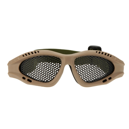 Cintura regolabile occhiali leggero anti-nebbia resistente agli urti occhio protezione metallica per Airsoft Giochi Sport