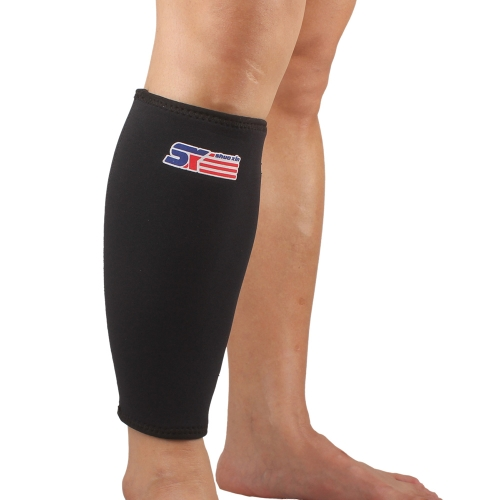 SX561 Sport Calf Stretch Brace Support Protector Wrap Shin Running Bandage Leg Sleeve Compression
