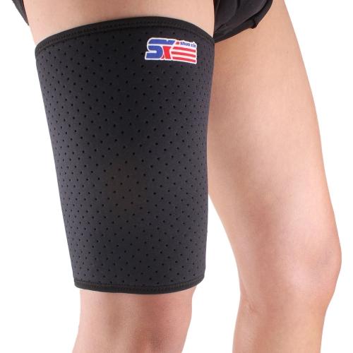 SX650 Sport traspirante elastico benda Wrap coscia Brace compressione manica supporto Protector protezione della pelle