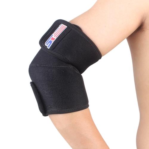 Sport all'aperto regolabile gomito tutore supporto elastico Wrap Proteggi Pad