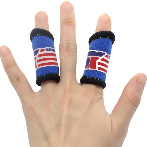 2pcs elastico basket sport dita ginocchiera supporto Wrap Band protezione