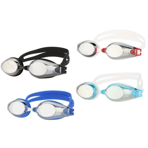 Image of Mode Unisex Wasser Sportswear Antifog UV Shield Protection wasserdicht Brillen Schutzbrillen schwimmen Gläser mit Ohrstöpsel