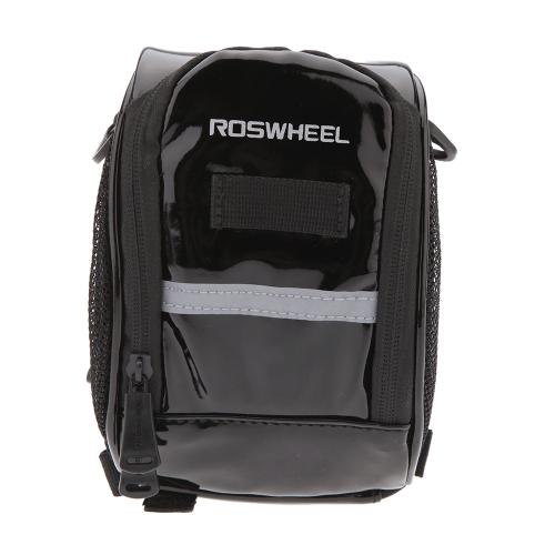 ROSWHEEL Fahrrad Lenker Bar Tasche vorne Gepäcktasche für MTB Mountain Bike Outdoor Reiten Reisen