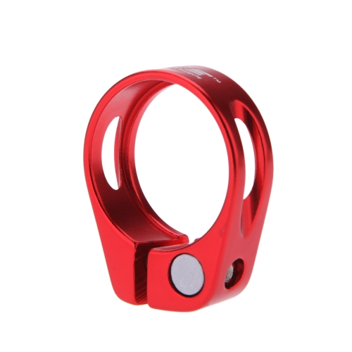 Bicycle Mountain Road MTB Bike 31.8mm Quick Release Seat Post Clamp Tube Clip Aluminium Alloy