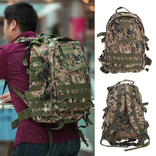 旅行する屋外モール軍事戦術バックパックリュックサックキャンプハイキングトレッキングバッグ40L