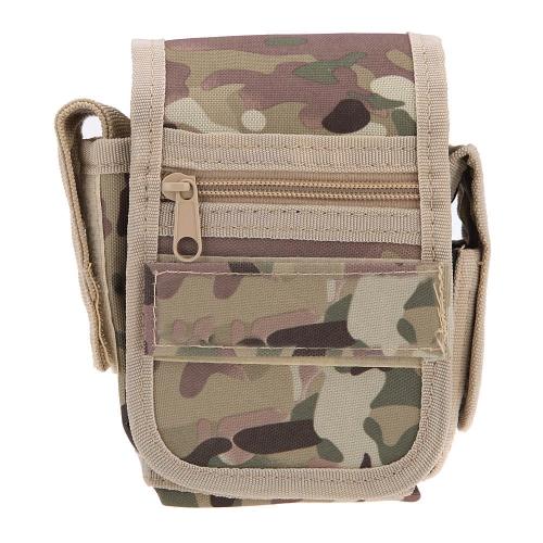 Vita piccola Pack esterno Sport detriti tattiche servizio borsa per militare soldato cellulare portatile leggero in sella