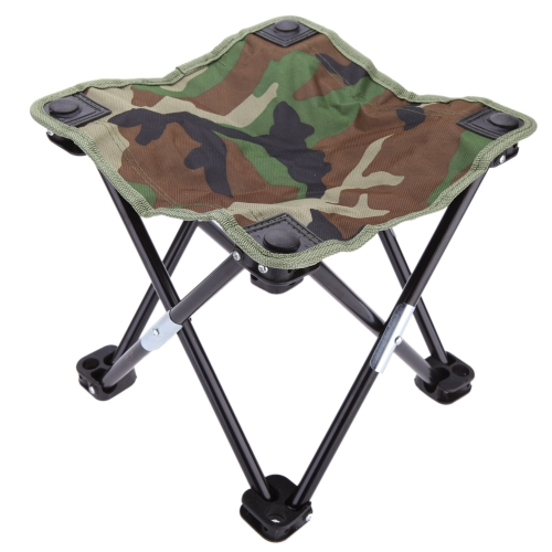 28 * 28 * 23cm Foldable Fishing Camping Chair Portable Outdoor Stool Camouflage