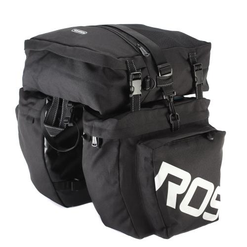 ROSWHEEL 3 в 1 Многофункциональная дорожка MTB Горный велосипед Сумка Велосипед Pannier Задняя сумка багажника