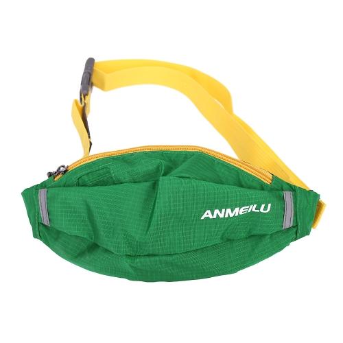 Nuovo portatile ANMEILU oblique borsa croce Sport Outdoor Waist Bag Sport Pack alpinismo escursionismo Marsupio Borsa da viaggio