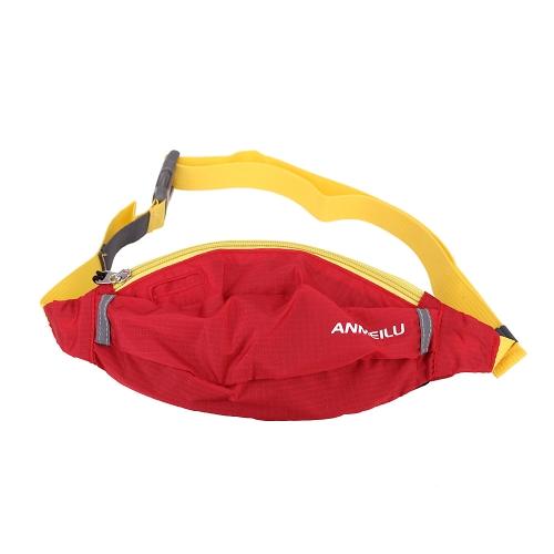 Nuovo portatile ANMEILU oblique croce borsa sport Outdoor vita borsa girovita Pack alpinismo escursionismo borsa sportiva sacca
