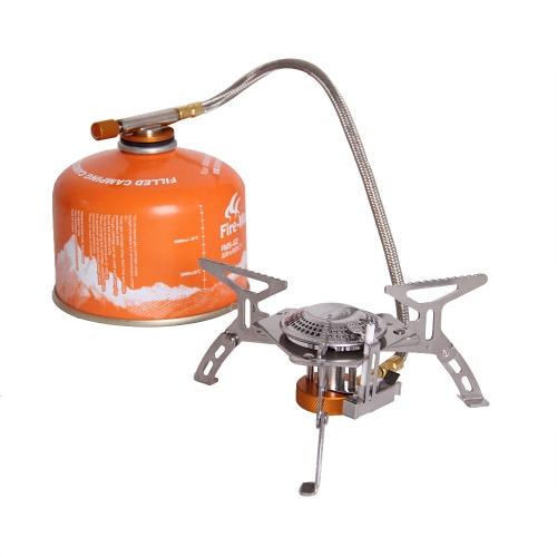 Огонь клен FMS-105 кемпинг газовая плита открытый приготовления портативный складной раскол горелки 2600W