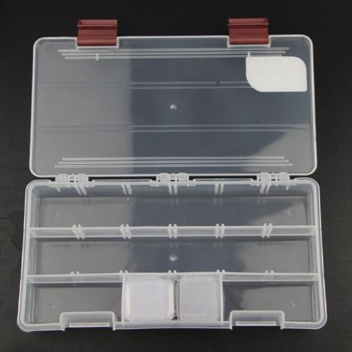 Ilure 5 отсеков прозрачный видимых пластиковые рыбалка коробки 22,5 * 11.2 * 3,3 см прочной снасти коробки