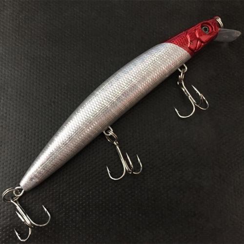 14.5cm 24g Outdoor 3D Eyes Minnow Fishing Lure Hard Bait 3 Treble Hooks 4 Colors