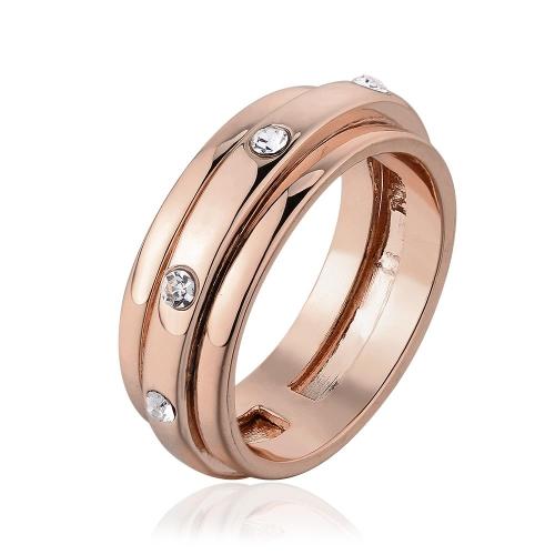 Alta qualidade por atacado de R613-8 niquelar livre antialérgicos nova moda jóias 18k Ouro Real PlatedRing