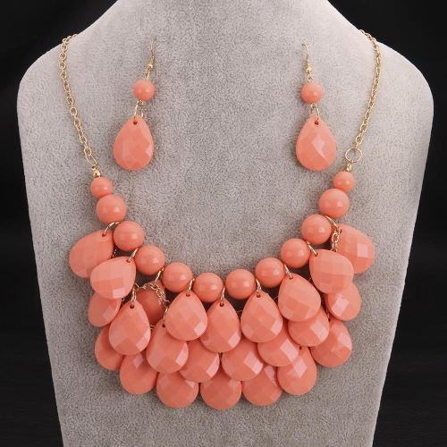 S001-A New Style fashion big star choker jewelry statement necklace women's accessories