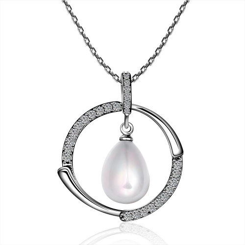 P052 Beautiful pearl pendants for Girl Friend Best gift