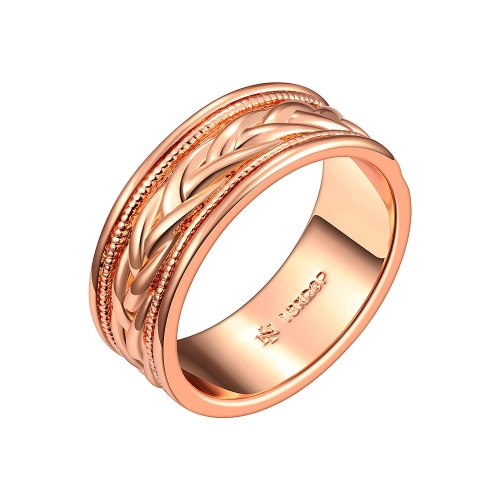 R685-A Wholesale High Quality Nickle Free Antiallergic New Fashion Jewelry 18K Gold PlatedRing
