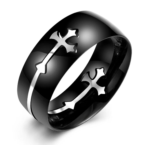 R022-A-8 Fashion titanium steel ring