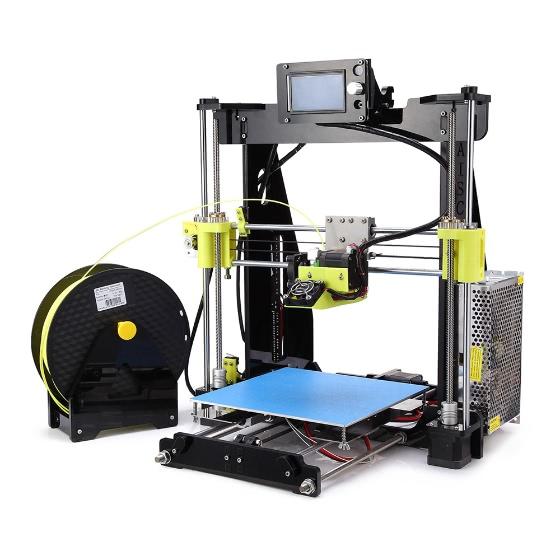High precision desktop 3d printer kit reprap prusa i3 diy self assembly 12864 lcd screen acrylic - 3d printer italia ...