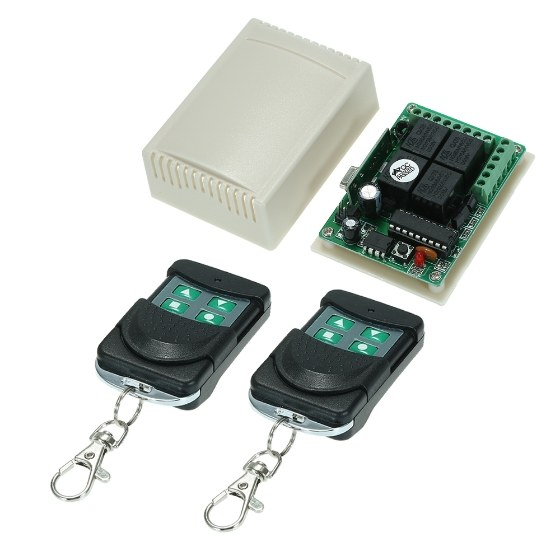 433Mhz DC 12V 10A Relay Wireless Remote Control Switch on